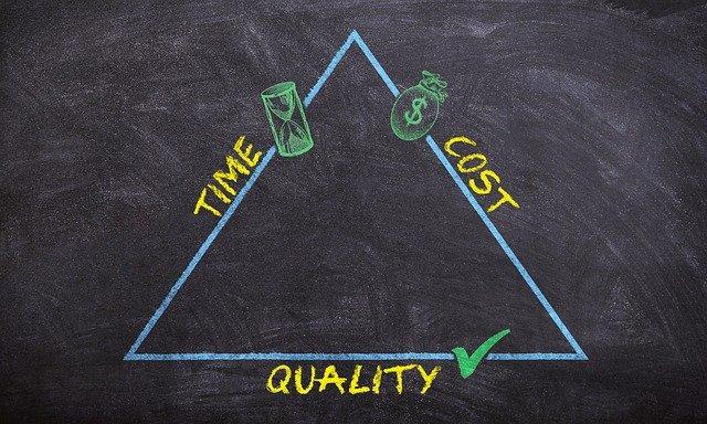 gestion projet principes temps argent qualité