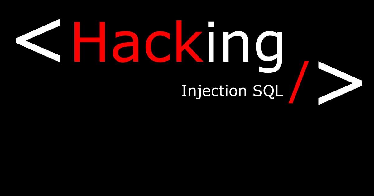 Injection SQL - SQLi - explications et mise en pratique